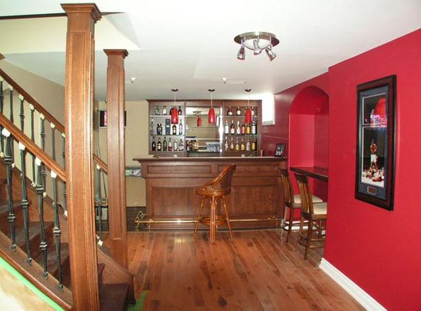 large custom bar