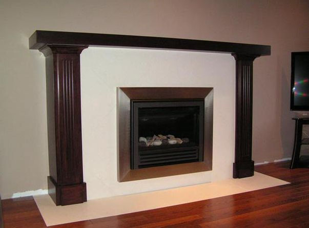 large mantel