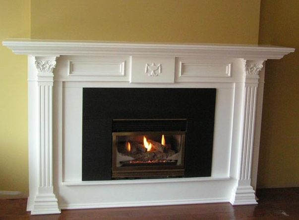 decorative mantel
