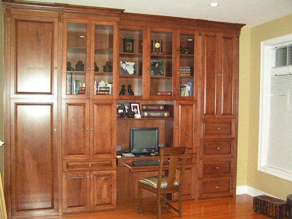 Large custom shelving and storage