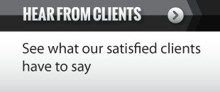 hear from clients - see what our satisfied clients have to say