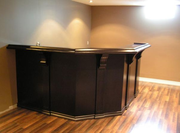 dark custom bar